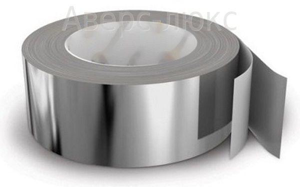 лента клейкая 50 мм 50м алюминиевая